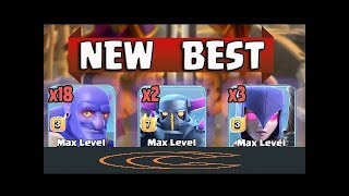 TH11 vs TH11 Full 3 stars attack || New Ground War attack strategy 2018 || New ground metal