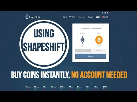 👉 Step By Step How To Buy ETHEREUM/LITECOIN/RIPPLE/DASH Using SHAPESHIFT 👈