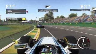 F1 2015 PC - Gameplay Felipe Massa - Campeonato Melbourne - Dublado PTBR