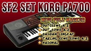 SF2 SET KORG PA700 PLUS MIDI FULL MARKERAN