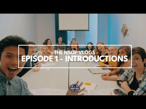 The NSOP Vlog - Episode 1 - Introduction