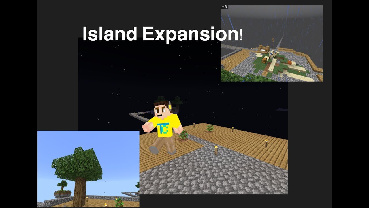 We Expanded our Island In Minecraft Skyblock!