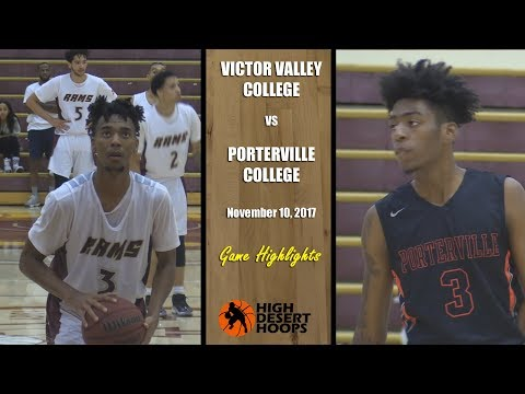 Victor Valley College vs Porterville College - Men