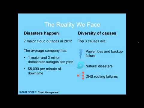 RightScale Webinar  Plan for Failure  How to Avert Disaster With a Cloud Strategy clip3
