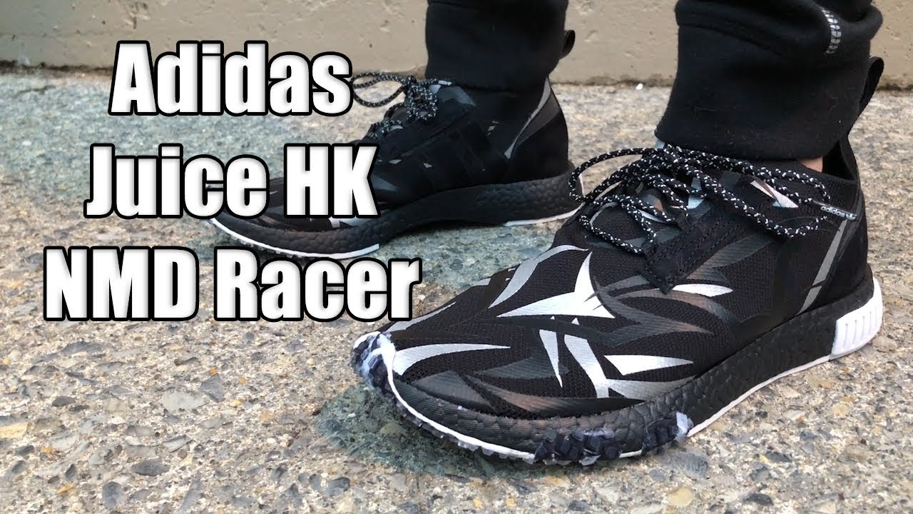 quality design ef0a0 4cb1b Adidas Consortium x Juice HK NMD Racer