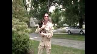 Dachshunds' Emotional Response At The Return Of Their Military Owners.