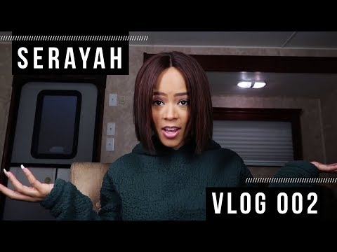 A Day in My Life on Set | SERAYAH VLOG 002