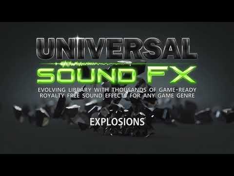 Unity Asset Store Pack - Universal Sound FX (Download Link Below)