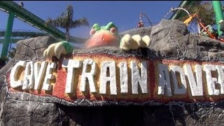 Cave Train Adventure Dark Ride Santa Cruz Beach Boardwalk California