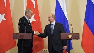Путин и Эрдоган. Итоги переговоров по Сирии