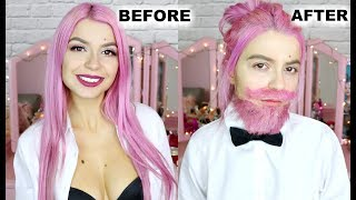 Turning Myself Into A Man (1st Drag King Attempt)
