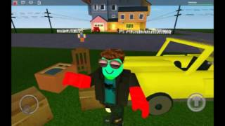 Hello neighbor in roblox! Laughter laughter