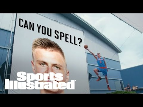 "Watch NBA Rookies Struggle to Spell ""Kristaps Porzingis""   Sports Illustrated"