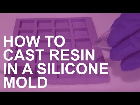 How to Cast Resin in a Silicone Mold