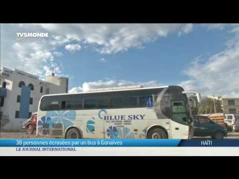 Haïti - 38 personnes écrasées par un bus à Gonaïves