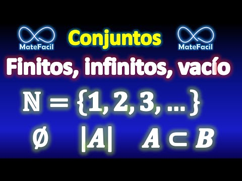 Conjunto vacío, finitos, infinitos, cardinalidad, por extensión y comprensión, etc