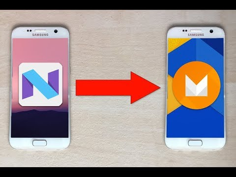 Downgrade Android 7 to 6 for all Samsung devices