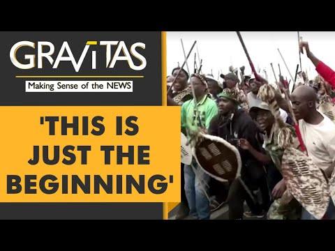 Gravitas: Unrest & Riots grip South Africa