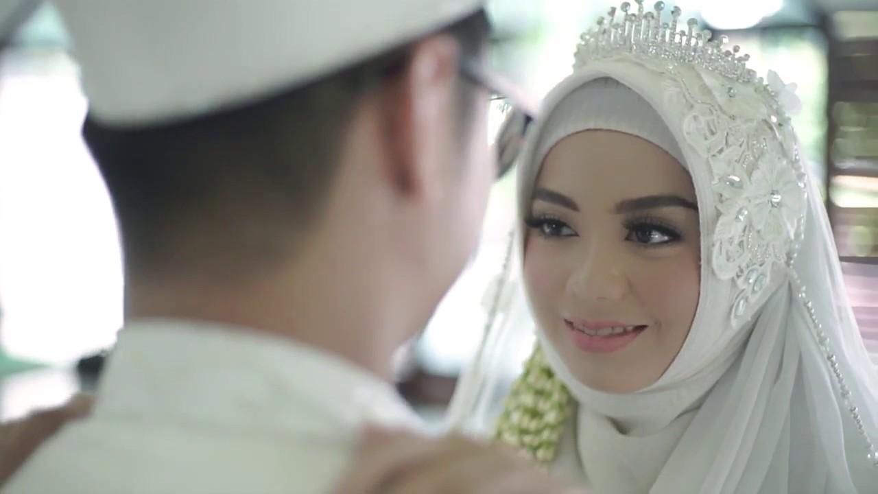 Kebaya Akad Nikah Hijab Dinda Zhafran Laksmi Kebaya Muslimah Islamic Bride 081703707670