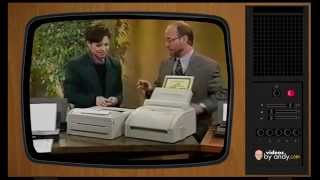 A Look Back At Computer Printers From 1995