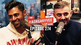 Hasan Minhaj, Homecoming King, White House Correspondents Dinner & Immigrant Parents| AskGaryVee 274
