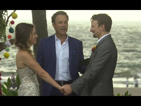 Carly And Evan Wedding.Bachelor In Paradise Evan And Carly Wedding Preview