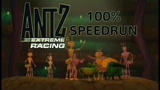 Antz Extreme Racing 100% Speedrun