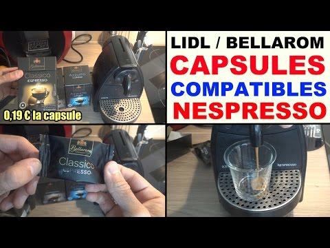capsules-café-lidl-bellarom-compatible-nespresso-test-avis-dosettes-lidl