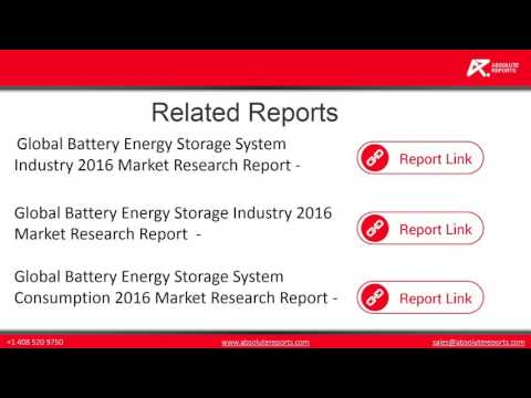 Global Battery Energy Storage System industry Analysis with Growth And Forecasts of Market