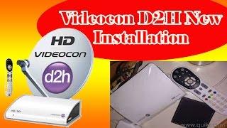 videocon d2h installation complete