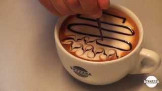 Latte Art tutorial: Waves