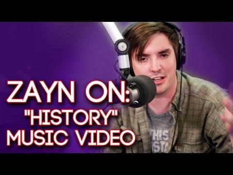 """Zayn Malik On Watching One Direction's """"History"""" Music Video"""