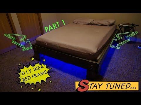 D.I.Y. IKEA Bed Frame - Part 1