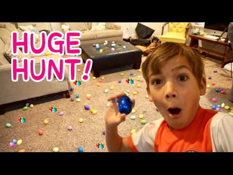 Thumbnail: HUGE Easter EGG TREASURE HUNT! | thousands of eggs