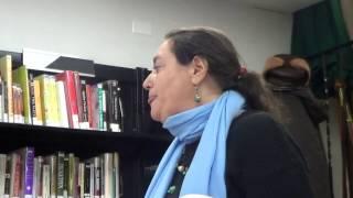 Sofiya Yuzefpolskaya Tsilosani   reading her poem Five  Angels