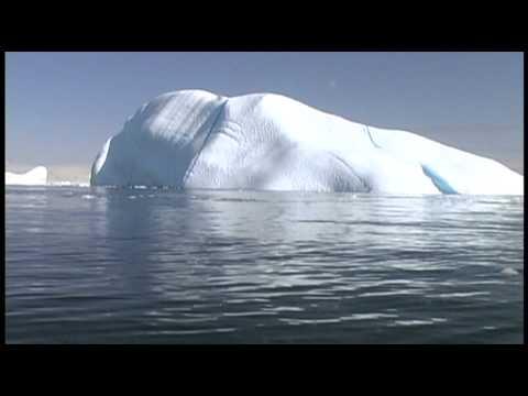 Rolling Iceberg in Antarctica