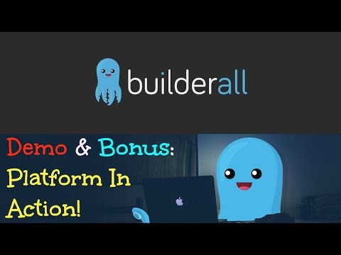 Builder All Demo Bonus - BuilderAll Marketing Platform In Action