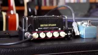 hotone british invasion 5w class ab amplifier