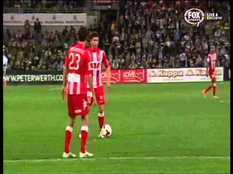 Harry Kewell Goal Melbourne Heart Vs Melbourne Victory