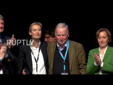Germany: Gauland and Weidel selected as AfD top candidates for Bundestag elections