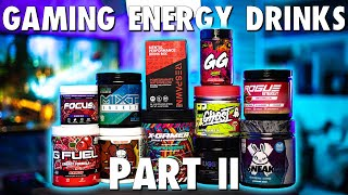 Alternatives to G Fuel: Gaming Energy Drinks Part II