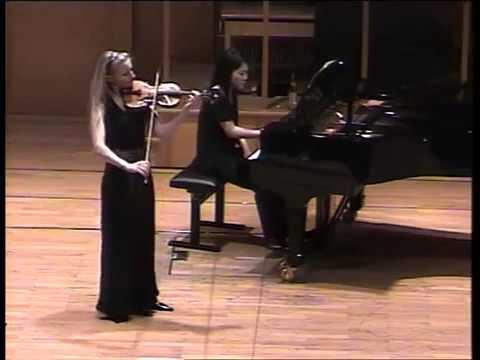 W A  Mozart violin concerto B dur 1 mov