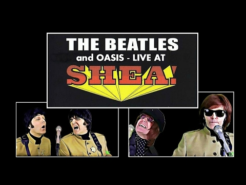 WOW!!! - The Beatles and Oasis - She's Electric - LIVE At SHEA STADIUM