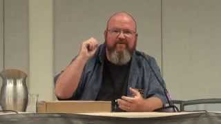Kevin Hearne Panel Phoenix Comicon 2015 Star Wars, Iron Druid Author Heir to the Jedi Oberon Atticus