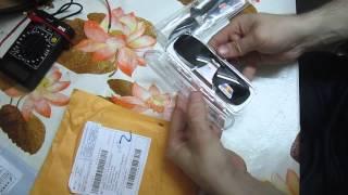 Распаковка солнцезащитные накладки на очки+аккумуляторная батарея