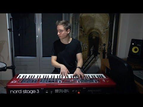 Martin Garrix & Pierce Fulton - Waiting For Tomorrow (feat. Mike Shinoda)  Piano Cover
