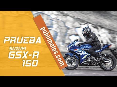PRUEBA SUZUKI GSX R 150