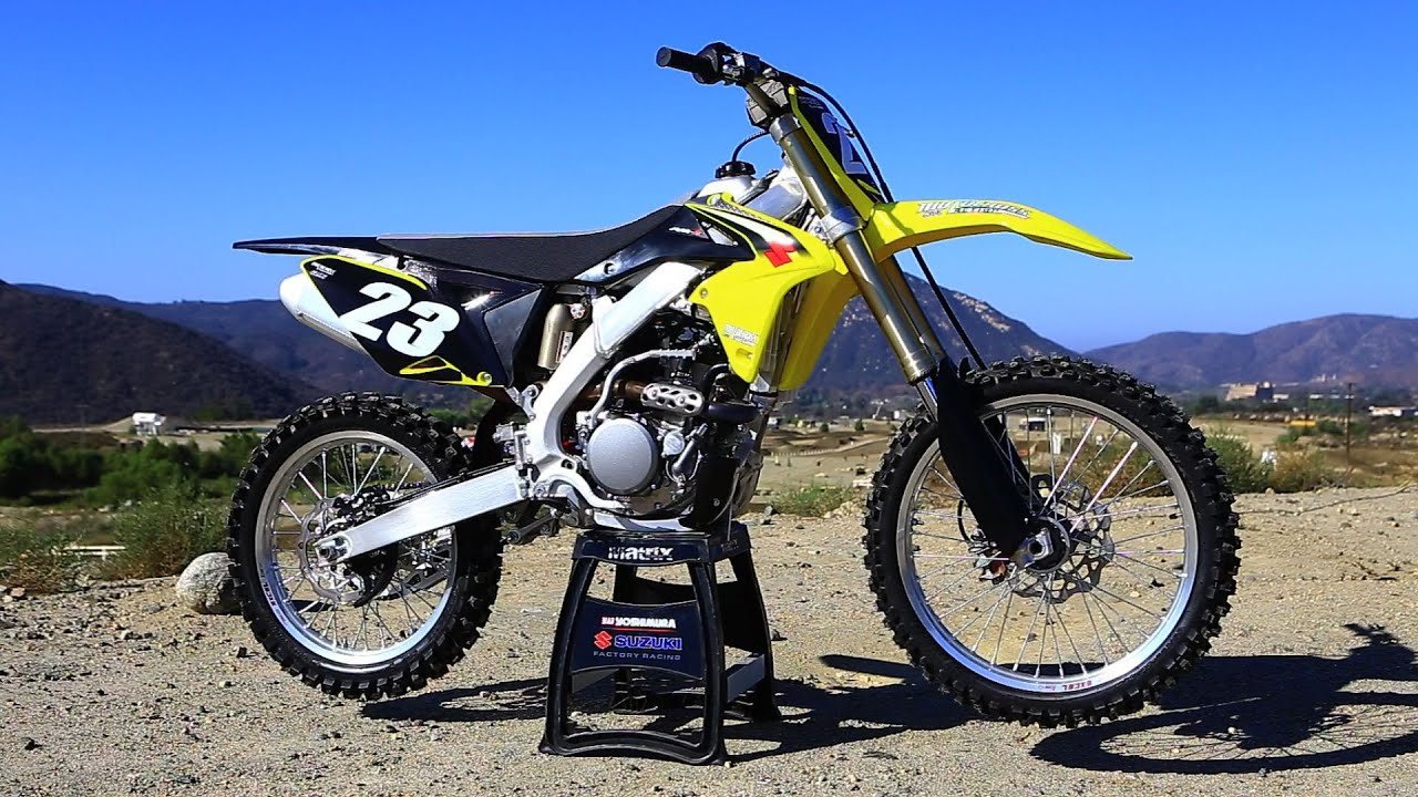 first ride 2016 suzuki rmz 250 motocross action magazine. Black Bedroom Furniture Sets. Home Design Ideas