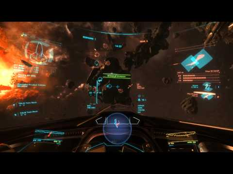 Star Citizen: Arena Commander 1.1.1 - Combat Footage 2 May 2015