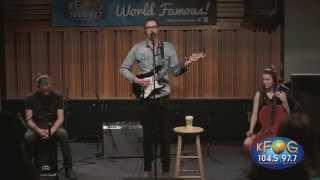 Hozier - Take me to Church (Live on KFOG Radio)